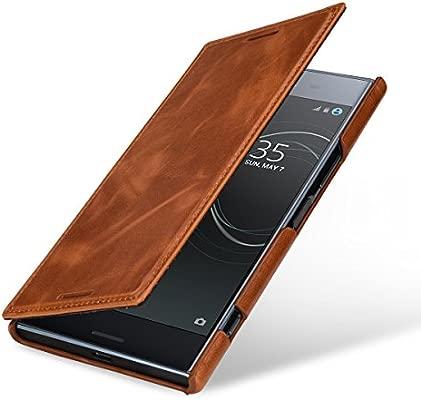 StilGut Book Type Case, Funda de Piel para el Sony Xperia XZ ...