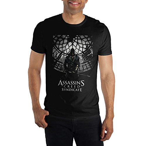 Assassin's Creed Syndicate Black Men's T-Shirt]()