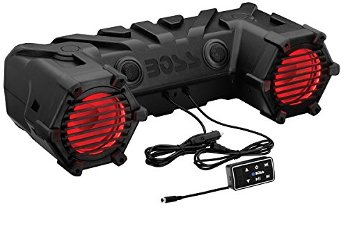 BOSS-AUDIO-ATV30BRGB-Powersports-Plug-and-Play-Audio-System-with-Weather-Proof-65-Inch-Component-Speakers-Built-in-450-Watt-Amp-and-Multi-Color-Illumination