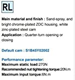 Shaphil Quarter Turn Cam Latch MS705-3C-1B-N02