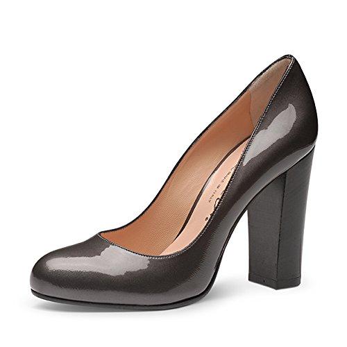 Evita Shoes - Zapatos de vestir de Piel para mujer Gris - gris