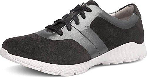 Dansko Womens Andi Sneaker Carboncino / Pelle Scamosciata Color Peltro