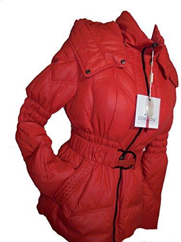CORALISE - Abrigo impermeable - Manga larga - para mujer Rojo