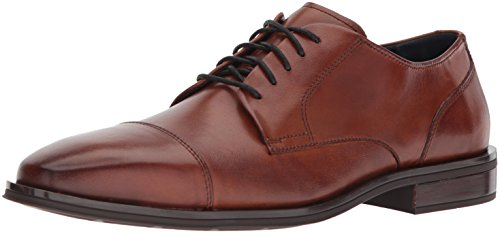 Cole Haan Men's Dawes Grand Cap Toe Oxford, British Tan, 10 Medium US by Cole Haan