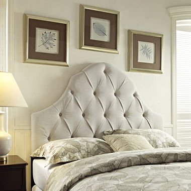 Lawson Tufted Fabric Headboard Full/Queen