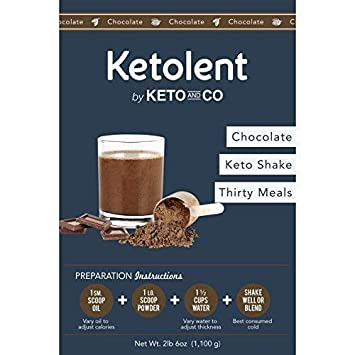 Amazon Sated Keto Meal Shake Chocolate Ketolent 30 Meal