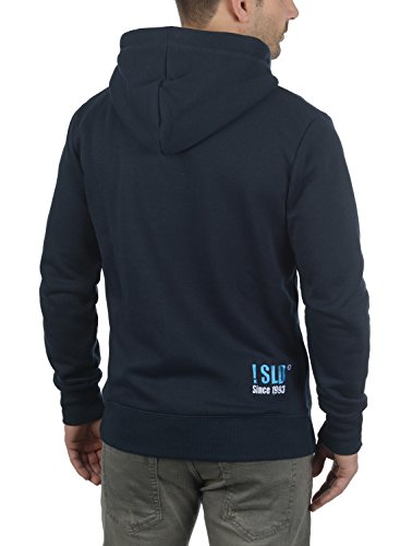Homme Blue Insignia Capuche Pour À Polaire solid 1991 Doublure Bennhood Sweat Hoodie Pull w40qtPvnt