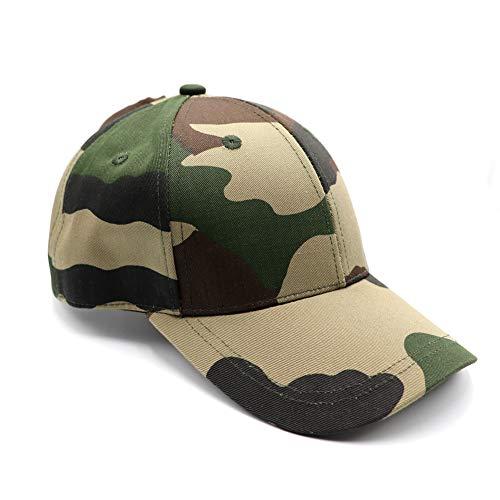 Womens Camo Ponytail Baseball Hat Messy HighBuns Ponycap Plain UnconstructedCotton Dad Hat Adjustable Cap Hat for Girls ()