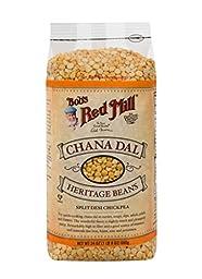 Bob\'s Red Mill Chana Dal Beans / Split Desi Chickpea, 24 Ounce (Pack of 4)