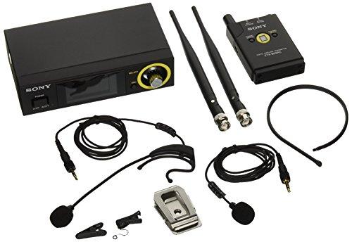 - Sony DWZB70HL DWZ Series Digital Wireless Headset & Lavalier Set, Black