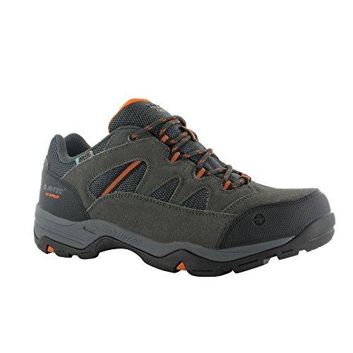 UPC 090641395450, Hi-Tec Bandera II Men's Low Waterproof Hiking Boots, Charcoal Graphite, 14D