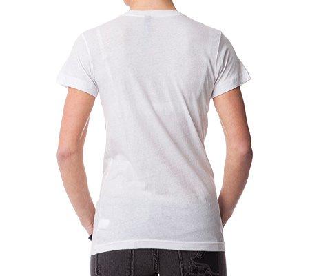 Metal Mulisha Women's Free Me Cotton Shirt,White,L US