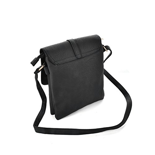 for Casuel Satchel Crossbody GLITZALL Bag Shoudle Purse work Bag Messenger Women��s Black wn8TAfqzTI
