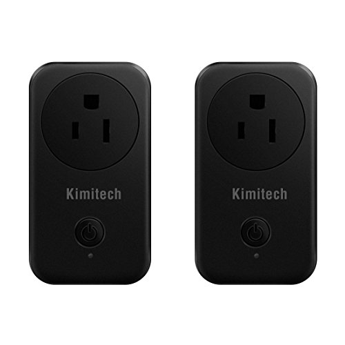 Labvon US Smart Plug No Hub Required Wi-Fi Control your Devices from Anywhere Works with Alexa(2 Pack)