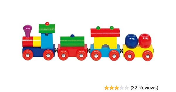 Goki Train Peru with Magnetic Coupling Toy Figure