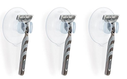 OXO Good Grips Suction Razor Holder (3 Pack) by OXO