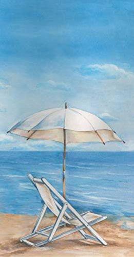 Ideal Home Range 32 Count 3-Ply Paper Guest Towel Buffet Napkins, Blue Horizon