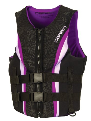 O'Brien Women's Impulse Neo Life Vest, Purple, Medium Buckle Type Iii Life Vest