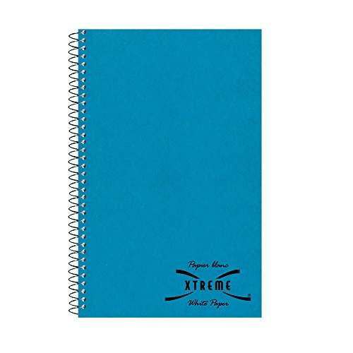 - NATIONAL Kolor Kraft Cover Notebook, College ruled, Blue, 3-Subject, 9.5 x 6