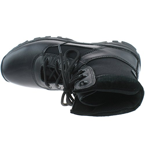 GraftersSTEALTH - Botas Militar hombre Black Leather/Nylon/Coated