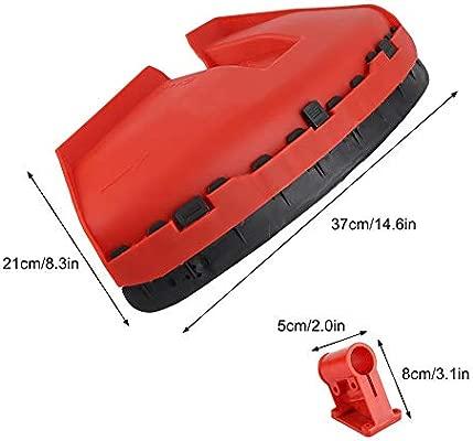 TOPINCN Diámetro de 26mm Cubierta de protección de la cortadora de césped Apta para CG520 430 Cortacésped de Repuesto Guardia Jardín Cortadora de ...