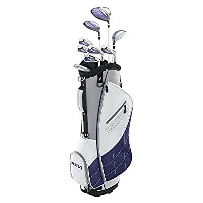 Wilson Golf Women's 2017 Ultra Package Set, Right Hand, White