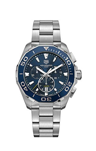 Tag Heuer Watches Tag Heuer Men's Aquaracer Watch (Blue) (Watch Tag Heuer Parts)