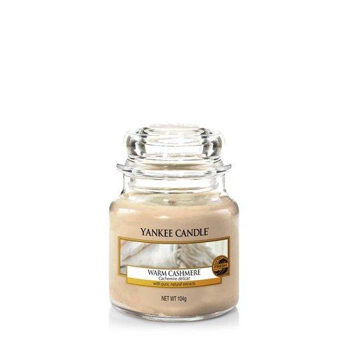 Yankee Candle Candela Piccolo Vaso, Caldo Cashmere 1556253E