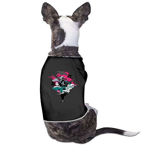 Jmirelife Japanese Ninja Style Lovely Dog Cat Shirt Costume Pet Sport Clothing Sweater Puppy Warm T-shirt Outfit Tops]()