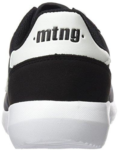 MTNG Attitude Bagel Chica, Zapatillas de Deporte para Mujer Negro (Raspe Negro)
