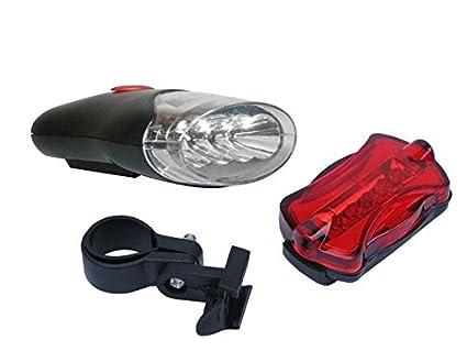 Takestop® luci per bici bike e stop posteriore bicicletta 4 led luce