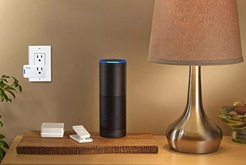 Ora Alexa-Enabled Wi-Fi Mini Smart Plug, White (Pack of 2) by ORA (Image #5)