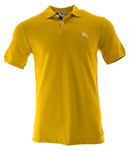 Burberry Brit Mens Short Sleeve Nova Check Placket Polo Shirt  Large