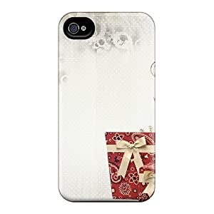Premium Iphone 4/4s Case - Protective Skin - High Quality For Christmas Christmas Deer Holidays