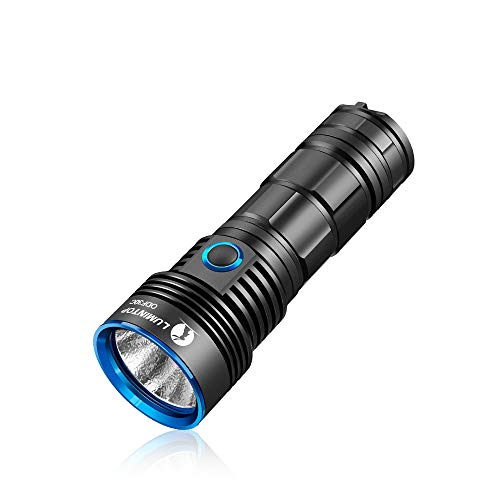 LUMINTOP ODF30C USB Rechargeable Flashlight, Searching Flood Light, Super Bright 3500 Lumens CREE LED, IP68 Dustproof and Waterproof, Powered By One 26650 Battery (not included) For Outdoors