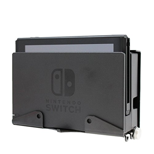 HumanCentric Nintendo Switch Mount | Wall Mount for Switch with Controller Hanger and Hooks | Patent Pending ()