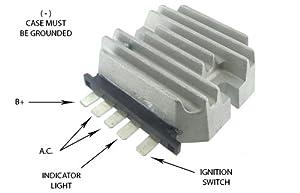 419%2BZCWA0fL._SX300_ D Kubota Voltage Regulator Wiring Diagram on