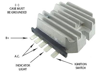 amazon com new rectifier regulator for john deere garden tractorJohn Deere 332 Alternator Wiring Diagram #19