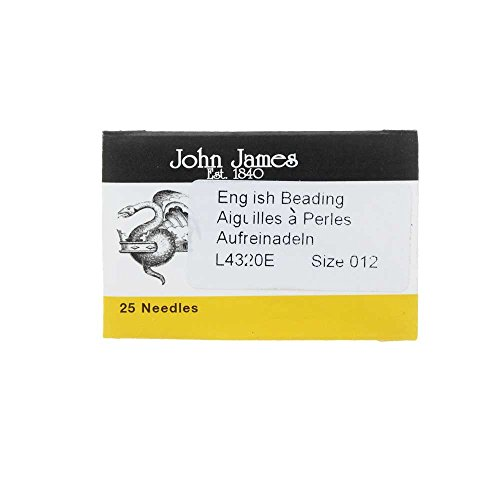 Beading Needles (Size 12) 25pc - BN12 ()