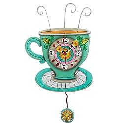 Allen Design Studios Sunny Cup Resin Wall Clock