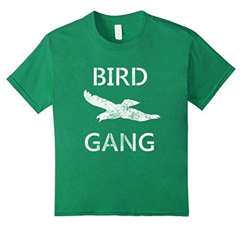 Kids Bird Gang Eagle Tee Shirt 10 Kelly Green