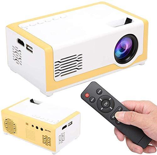 Mini Beamer, Tragbar Videoprojektor, Projektor Beamer HiFi-Lautsprecher Tragbarer Home Movie-Projektor Pico-Projektor…