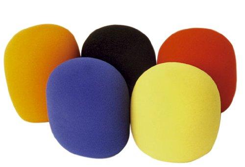 13 opinioni per Soundlab Set di 5 copri-microfono, colori vari