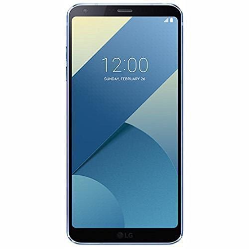 "Price comparison product image LG G6 PLUS H870DSU 128GB, 5.7"" QHD, Dual Sim, 4GB RAM, GSM Unlocked International Model, No Warranty (Blue)"