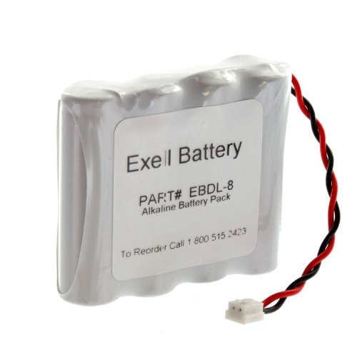 exell-battery-door-lock-6v-4-cell-battery-pack-fits-884952-a28110-a28100-dl-12-4-htl-11-13-intellis-