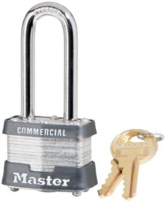Master Lock 3KA LH Padlock (6-Pack) by Master Lock
