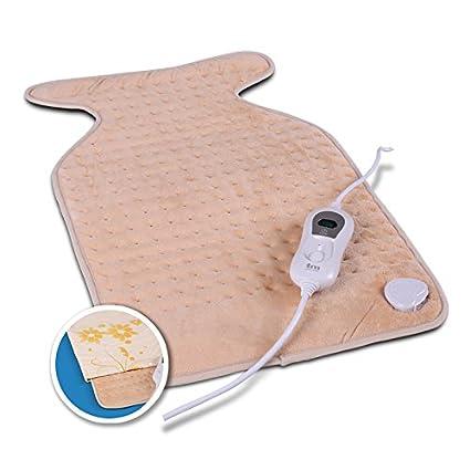 TM Electron TMHEP111 - Almohadilla Eléctrica Lavable para Cuello y Espalda, 100W con 3 niveles