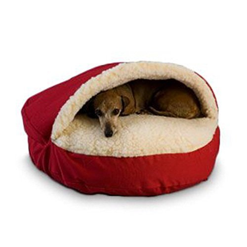 Snoozer Cozy Cave, X-Large, Red