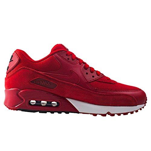 90 Nike Air Homme Essential Max Red Basses gym Rot white Baskets black qqUE6n