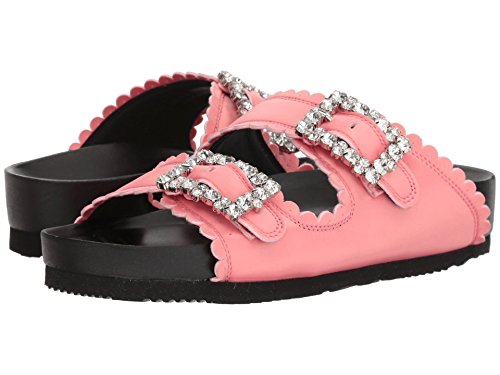 韻女優体操選手[シューコンマボニー] レディース サンダル Jewel Buckles Flat Sandals [並行輸入品]